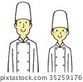 cook, coat, men 35259176