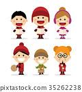 christmas, singing, children 35262238