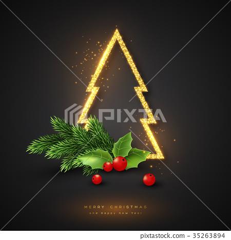 Christmas holiday background. 35263894