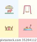 Playground Design Element 35264112