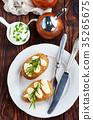 烘烤的 馬鈴薯 土豆 35265675