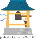 bell, ringing, monk 35265737