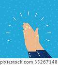 hands, clap, hand 35267148