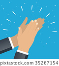 hands, clap, hand 35267154