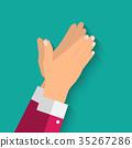 hands, clap, hand 35267286
