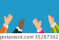 hands, clap, hand 35267302