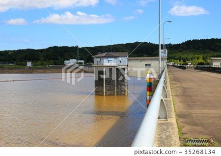 水壩 堆石壩 多用途壩 35268134