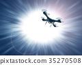 비행, 공중 촬영, 드론 35270508