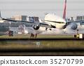 비행기, 항공기, 공항 35270799