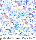 Christmas seamless pattern  35271675
