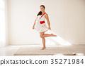 pregnant fun woman 35271984