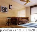 室内装饰 室内设计 沙发 35276203