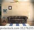 室内装饰 室内设计 沙发 35276205