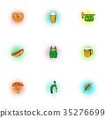 ale icon vector 35276699