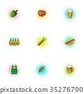 barley drink icon 35276700