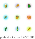 beer icon vector 35276701