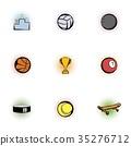 sports, accessories, icon 35276712