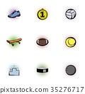 sports, stuff, icon 35276717