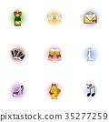 wedding, icon, vector 35277259