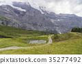 산, 초원, 구름 35277492