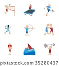 sports, icon, vector 35280437