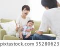 ทารก,เด็ก,ครอบครัว 35280623