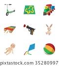 toys kid icon 35280997