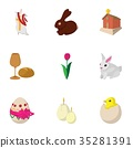 holiday easter icon 35281391