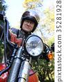 중년 남성 자전거 35281928