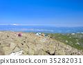 從Tateshina山峰的看法 35282031
