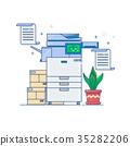 printer, office, scanner 35282206