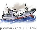 漁船 釣魚 捕魚 35283742