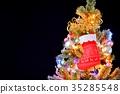 크리스마스, 조명, 양말 35285548