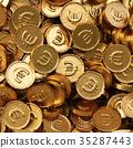 錢幣 黃金 金色 35287443