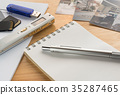 Evidence reporter props note detective physical evidence crime investigation 35287465