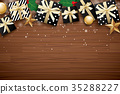 christmas merry background 35288227