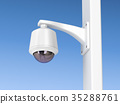 Dome surveillance camera 35288761