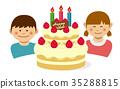 慶生 生日 生日蛋糕 35288815