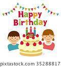 慶生 生日 生日蛋糕 35288817