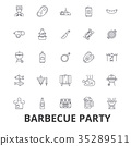 barbecue, grill, meat 35289511