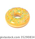 donut icing colorful 35290834
