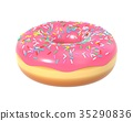donut icing delicious 35290836