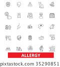Allergy, food, season, desease, sneeze, pollen 35290851