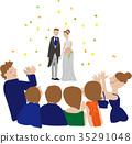 nuptials, weddings, applause 35291048
