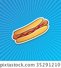 american, cartoon, dog 35291210
