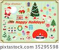 คริสต์มาส,ซานต้า,หน้าต่าง 35295598