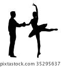 ballet couple dancer 35295637