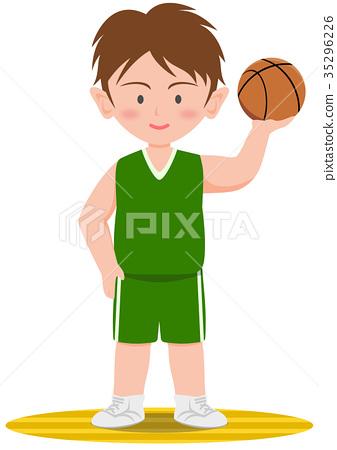 籃球運動員 35296226