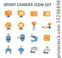sport camera icon 35296896