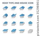 roof type icon 35296901